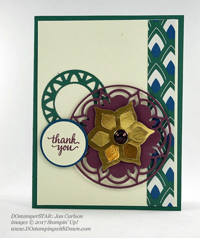 Stampin' Up! DOstamperSTARS Friday Feature cards shared by Dawn Olchefske #dostamping (Jan Carlson)