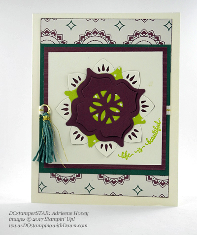 Stampin' Up! DOstamperSTARS Friday Feature cards shared by Dawn Olchefske #dostamping (Adrienne Hovey)
