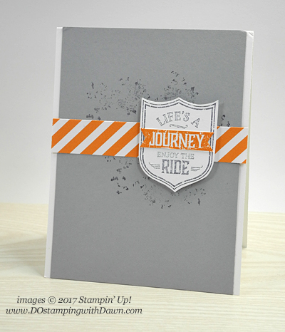Stampin' Up! One Wild Ride cardshared by Dawn Olchefske #dostamping