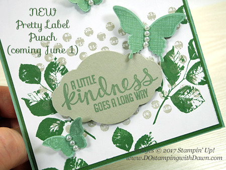 Stampin' Up! Kinda Eclectic stamp set shared by Dawn Olchefske #dostamping