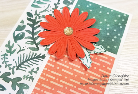 Stampin' Up! Delightful Daisy Suite cards from new 2017-18 Annual Catalog by Dawn Olchefske for Control Freak Blog Tour #dostamping