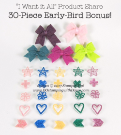 Dawn's Early-Bird Product Share Bonus with I Want It All Share!