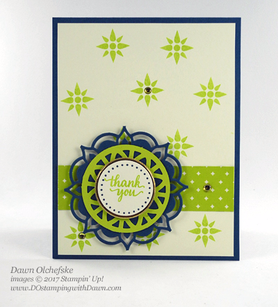 Stampin' Up! Eastern Palace Suite cards shared by Dawn Olchefske #dostamping