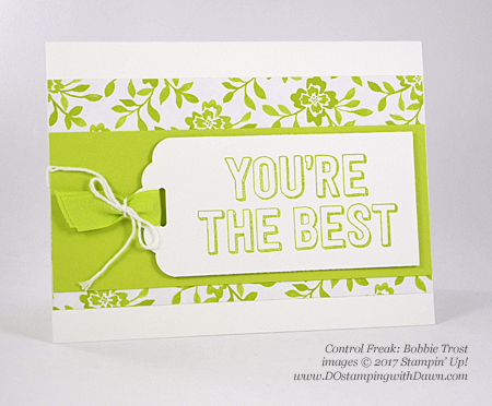 Stampin' Up! You're Delightful host set shared by Dawn Olchefske #dostamping  (Bobbie Trost)