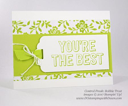 Stampin' Up! You're Delightful host set shared by Dawn Olchefske #dostamping (Bobbie Trost)