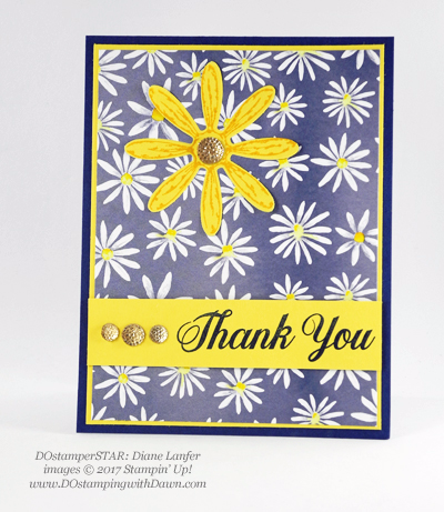Stampin' Up! Delightful Daisy Bundle swap cards shared by Dawn Olchefske #dostamping  (Diane Lanfer)