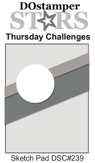 DOstamperSTARS Thursday Challenge #DSC239 - Sketch Pad #dostamping