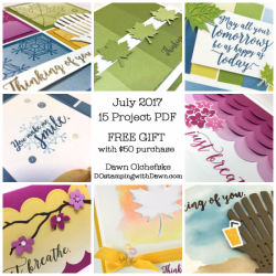 DOstamping Gift with Order, Color Theory Suite 15-Project BONUS PDF