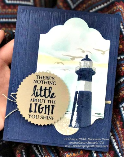 Stampin' Up! High Tide card shared by Dawn Olchefske #dostamping (Mackenzie Fuchs)