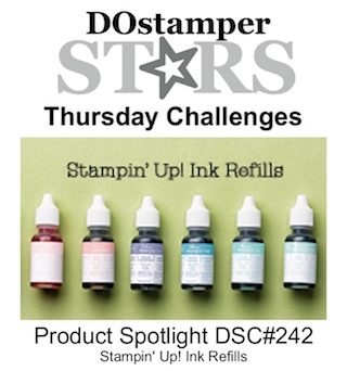 DOstamperSTARS Thursday Challenge #242-Product Spotlight #dostamping