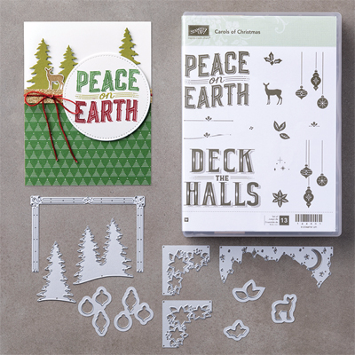 Stampin' Up! Carols of Christmas Bundle Early Release (8/2017) #dostamping