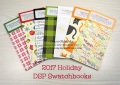 2017 Holiday Catalog DSP Swatchbooks offered by Dawn Olchefske #dostamping