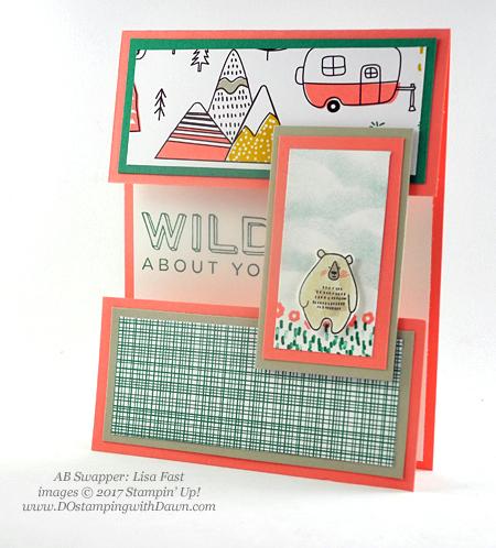 Stampin' Up! Pick a Pattern Designer Series Paper shared by Dawn Olchefske #dostamping(Lisa Fast)