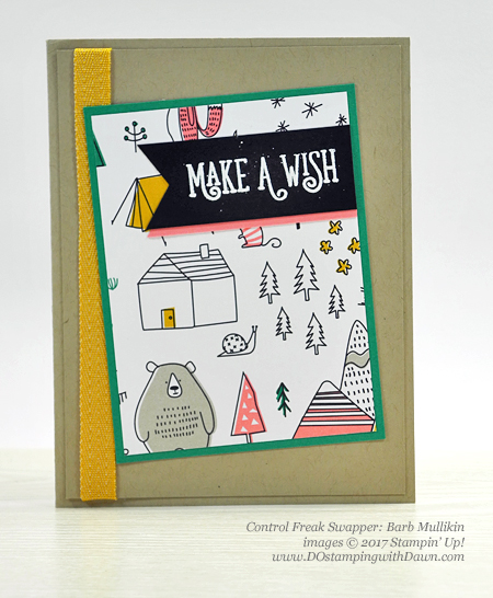 Stampin' Up! Pick a Pattern Designer Series Paper shared by Dawn Olchefske #dostamping (Barb Mullikin)
