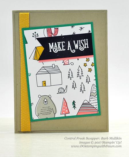 Stampin' Up! Pick a Pattern Designer Series Paper shared by Dawn Olchefske #dostamping(Barb Mullikin)