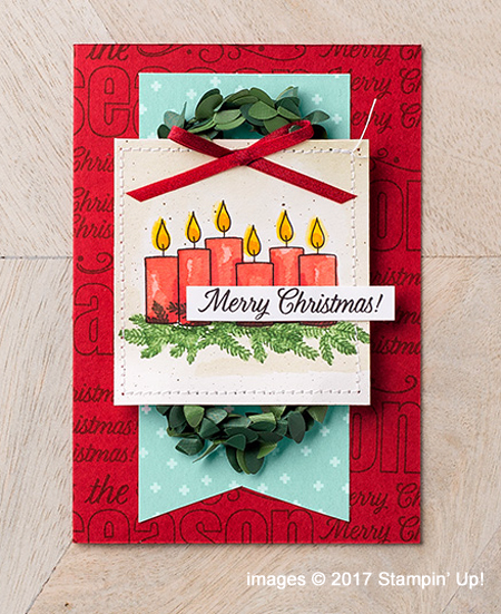 Stampin' Up! Merry Patterns Host Stamp Set samples hared by Dawn Olchefske #dostamping  #stampinup #handmade #cardmaking #stamping #diy #merrypatterns #christmascards