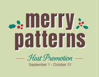 Stampin' Up! Merry Patterns Host Stamp Set samples hared by Dawn Olchefske #dostamping  #stampinup #handmade #cardmaking #stamping #diy #merrypatterns