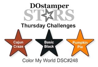 DOstamperSTARS Thursday Challenge #DSC248 #dostamping #stampinup #handmade #cardmaking #stamping #diy