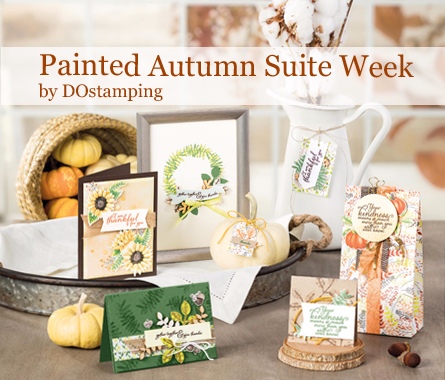 check out DOstamping Painted Autumn Suite Week from Dawn Olchefske #dostamping #stampinup #paintedharvest #leafpunch #paintedautumnDSP