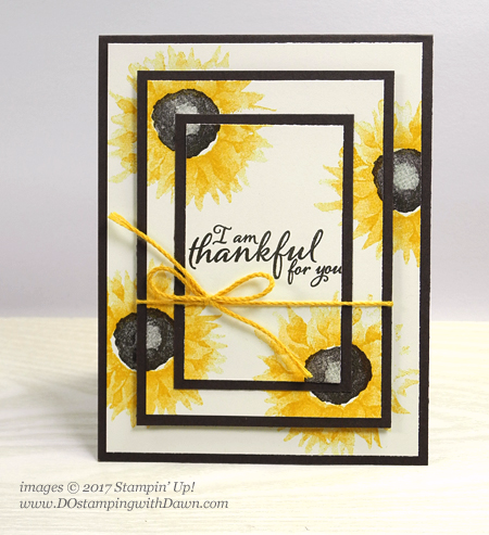 Stampin' Up! Painted Harvest shared by Dawn Olchefske #dostamping  #stampinup #handmade #cardmaking #stamping #diy #tripletime #paintedharvest