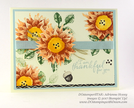 Stampin' Up! Painted Harvest Bundle swap cards shared by Dawn Olchefske #dostamping  #stampinup #handmade #cardmaking #stamping #diy #paintedharvest( DOstamperSTAR Adrienne Hovey)