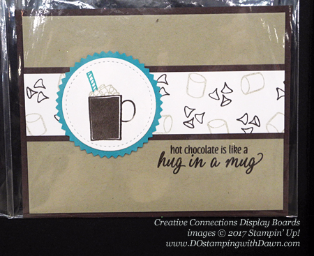 Creative Connections Event Display projects shared by Dawn Olchefske #dostamping #stampinup #handmade #cardmaking #stamping #diy #huginamug
