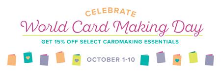 Stampin' Up! World Card Making Day Sale Oct 1-10, 2017 - Shop with Dawn Olchefske #dostamping #stampinup #wcmd #fastfuse