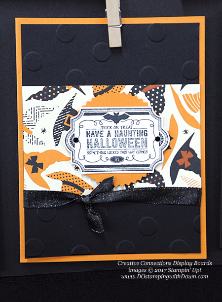 Stampin' Up! Labels to Love Halloween cards shared by Dawn Olchefske #dostamping #stampinup #handmade #cardmaking #stamping #diy #labelstolove #trickortreat #halloween
