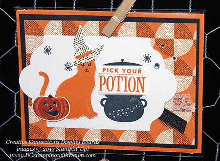 Stampin' Up! Spooky Cat Samples shared by Dawn Olchefske #dostamping  #stampinup #handmade #cardmaking #stamping #diy #spookycat #trickortreat #halloween #catpunch #festivephrases