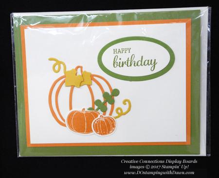 Stampin' Up! Pick a Pumpkin bundle & Patterned Pumpkins Thinlits shared by Dawn Olchefske #dostamping #stampinup #handmade #cardmaking #stamping #diy #fall #halloween #rubberstamping