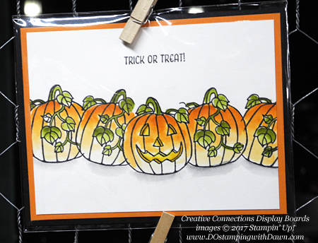 Stampin' Up! Seasonal Chums stamp set shared by Dawn Olchefske #dostamping  #stampinup #handmade #cardmaking #stamping #diy #fall #halloween #rubberstamping