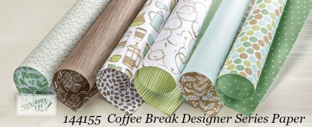 Stampin' Up! Coffee Break Designer Series Paper shared by Dawn Olchefske #dostamping  #stampinup #handmade #cardmaking #stamping #diy #rubberstamping
