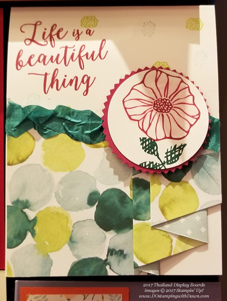 Stampin' Up! Naturally Eclectic Designer Series Paper shared by Dawn Olchefske #dostamping  #stampinup #handmade #cardmaking #stamping #diy #rubberstamping