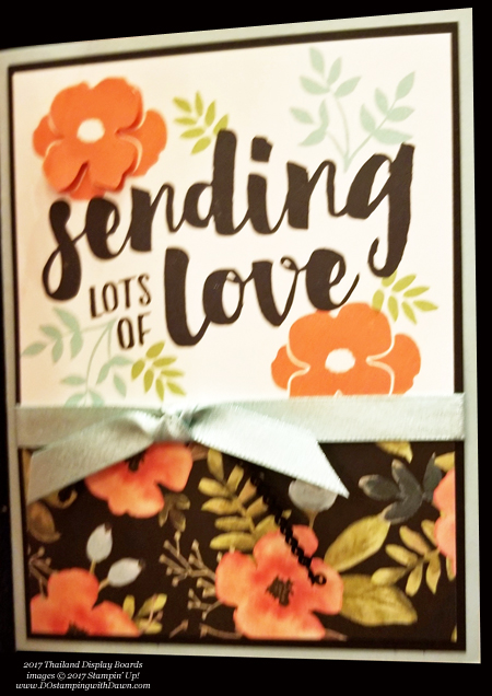 Stampin' Up! Whole Lot of Lovely Designer Series Paper shared by Dawn Olchefske #dostamping #stampinup #handmade #cardmaking #stamping #diy #rubberstamping