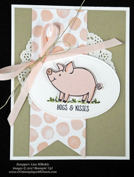 Stampin' Up! Whole Lot of Lovely Designer Series Paper shared by Dawn Olchefske #dostamping #stampinup #handmade #cardmaking #stamping #diy #rubberstamping (Lisa Mitakis)
