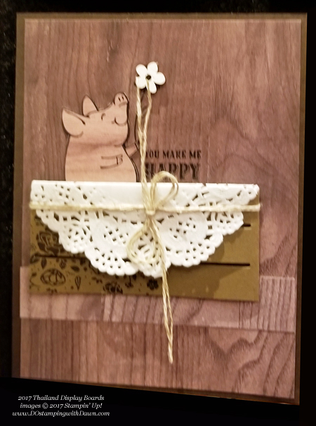Stampin' Up! Wood Textures Designer Series Paper Stack shared by Dawn Olchefske #dostamping  #stampinup #handmade #cardmaking #stamping #diy #rubberstamping