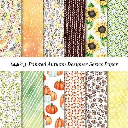 Stampin' Up! Painted Autumn Designer Series Paper shared by Dawn Olchefske #dostamping  #stampinup #handmade #cardmaking #stamping #diy #rubberstamping