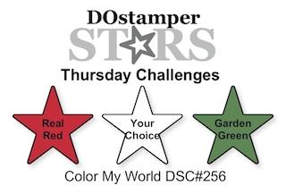 DOstamperSTARS Thursday Challenge #DSC256 #dostamping #stampinup #handmade #cardmaking #stamping #diy