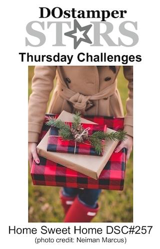 DOstamperSTARS Thursday Challenge #DSC257 #dostamping #stampinup #handmade #cardmaking #stamping #diy