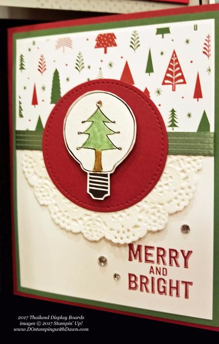 Stampin' Up! Be Merry Designer Series Paper samples shared by Dawn Olchefske #dostamping #stampinup #handmade #cardmaking #stamping #diy #rubberstamping #DSP #designerseriespaper #christmas #bemerry