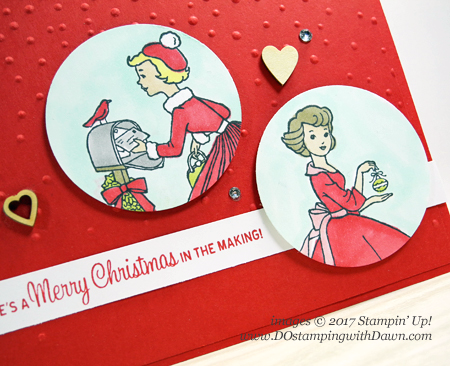 Stampin' Up! Christmas in the Making and Stampin' Blends shared by Dawn Olchefske #dostamping #stampinup #handmade #cardmaking #stamping #diy #rubberstamping #christmasinthemaking #christmascards #stampinblends #2017holidaycatalog