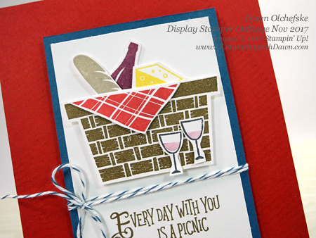 Display Stamper Blog Hop Day 3 Picnic With You