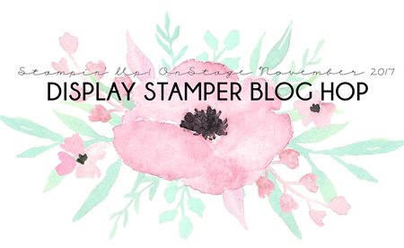 DOstamping On Stage Nov 2017 Display Stamper Blog Hop