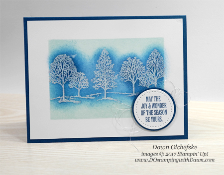 Stampin' Up! Lovely as a Tree - Dawn Olchefske #dostamping #stampinup