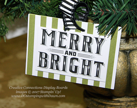 Stampin' Up! Merry Little Christmas Memories & More Pack card shared by Dawn Olchefske #dostamping  #stampinup #handmade #cardmaking #stamping #diy #rubberstamping #christmascards