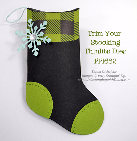 Stampin' Up! Tags & Trimmings Bundle projects shared by Dawn Olchefske for DOstamperSTARS Thursday Challenge #DSC260 #dostamping #stampinup #handmade #stamping #diy #christmas #packaging #bigshot #trimyourstockings