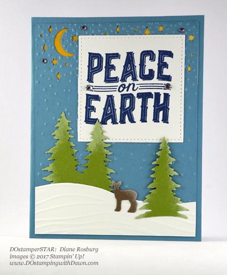 Stampin' Up! Carols of Christmas Bundle card shared by Dawn Olchefske #dostamping #dostamperstars #christmascards #diy #rubberstamping #handmade (Diane Rosburg)