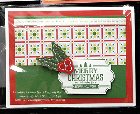 Stampin' Up! Labels to Love cards shared by Dawn Olchefske #dostamping #stampinup #handmade #cardmaking #stamping #diy #rubberstamping #christmascards #christmasquilt (