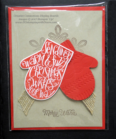 Stampin' Up! Smitten Mitten bundle cards shared by Dawn Olchefske #dostamping  #stampinup #handmade #cardmaking #stamping #diy #rubberstamping #christmascards #christmasquilt