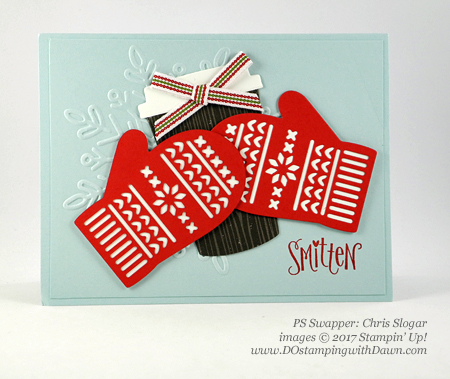 Stampin' Up! Smitten Mitten bundle cards shared by Dawn Olchefske #dostamping  #stampinup #handmade #cardmaking #stamping #diy #rubberstamping #christmascards #christmasquilt (ChrisSlogar)